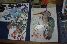 Great Blue in Process