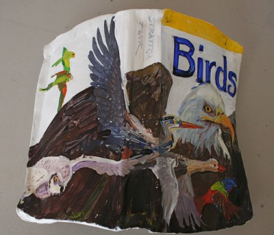 Epoxy Bird Book