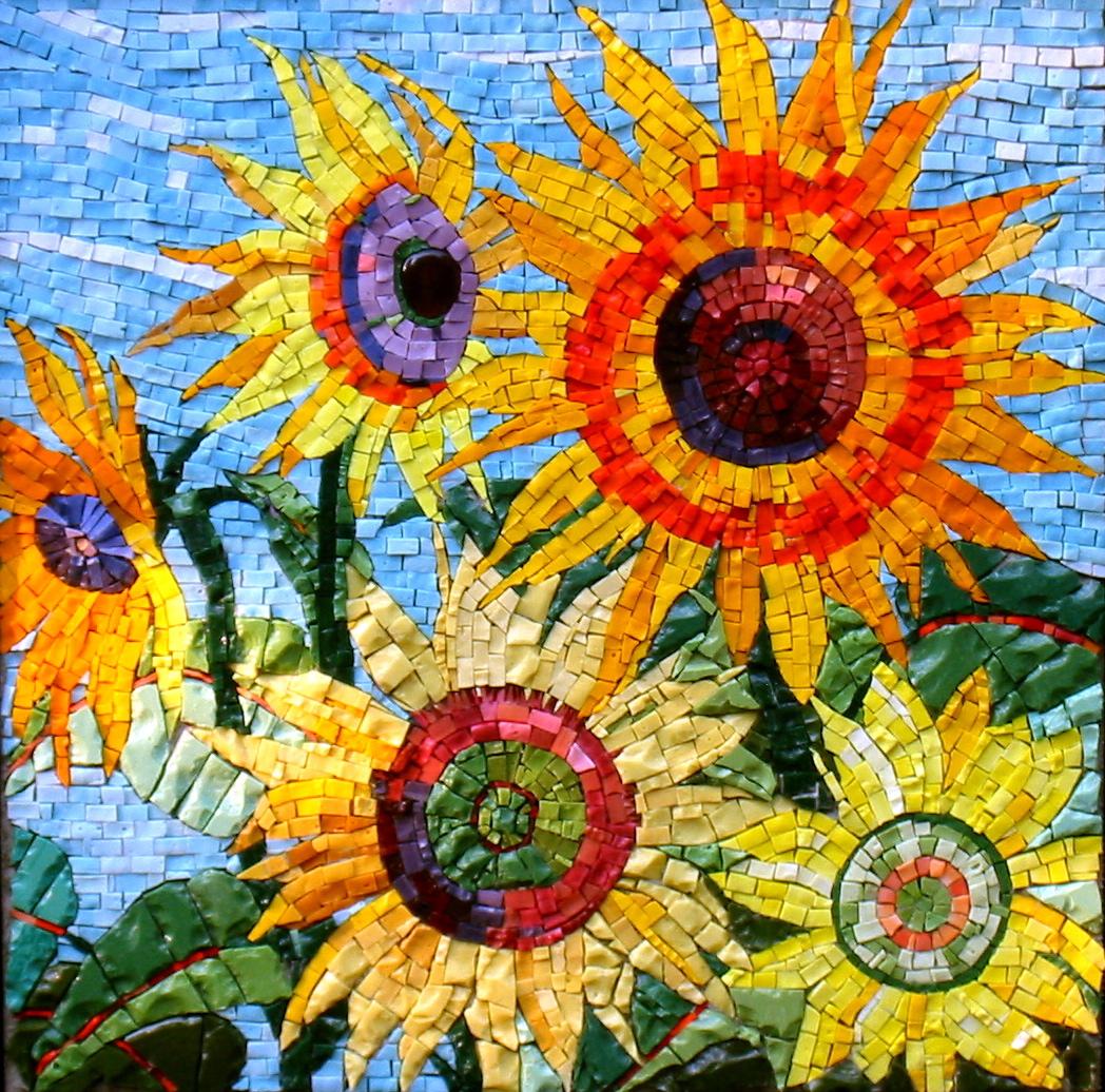 Image Gallery Sunflower Mosaics