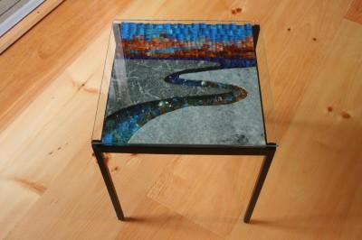 Sunset Marsh Table